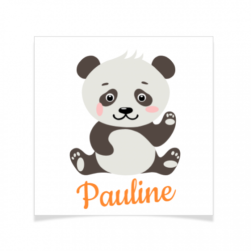 8 Tatouages à personnaliser - Panda