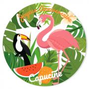 Fotocroc à personnaliser - Tropical Flamingo