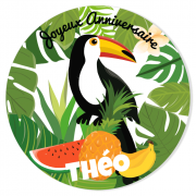 Fotocroc à personnaliser - Tropical Toucan