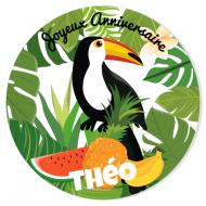 Fotocroc à personnaliser - Tropical Toucan