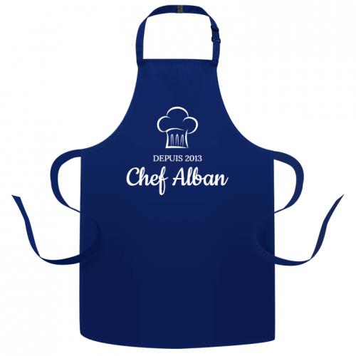 Tablier à personnaliser - Super Chef Toque