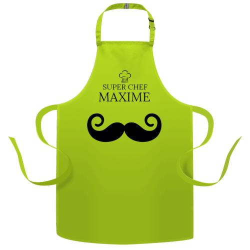Tablier à personnaliser - Moustache