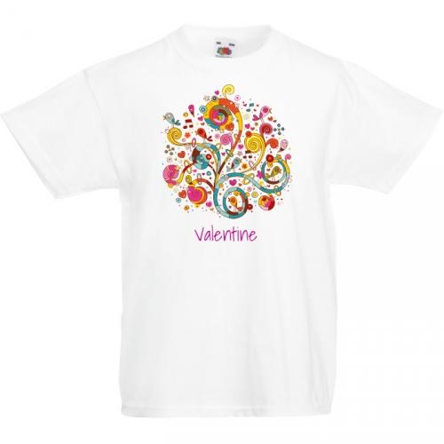 T-shirt à personnaliser - Arbre à Coeur