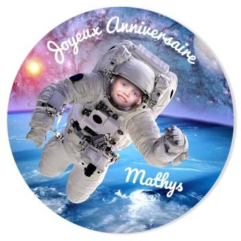 Fotocroc à personnaliser - Astronaute Photo