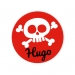Disques Cupcake à personnaliser - Tête de Mort Pirate. n°3