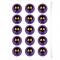 Disques Cupcake à personnaliser - Tête noire images:#0
