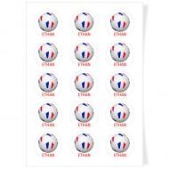 Disques Cupcake à personnaliser - Ballon France