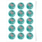 Disques Cupcake à personnaliser - Flamant Rose images:#0