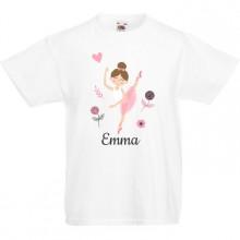 T-shirt à personnaliser - Ballerine