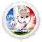 Ballon Photo Allez les Bleus - Gonflé à l'Hélium 55 cm images:#0