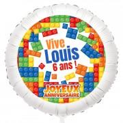 Ballon Block Party - Gonflé à l'Hélium 55 cm