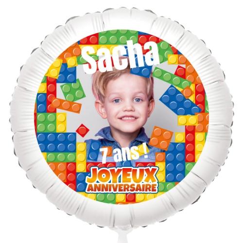Ballon Photo Block Party - Hélium 55 cm