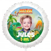 Ballon Photo Dino T-Rex - Hélium 55 cm