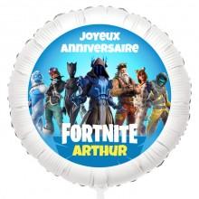 Ballon Fortnite - Gonflé à l'Hélium 55 cm