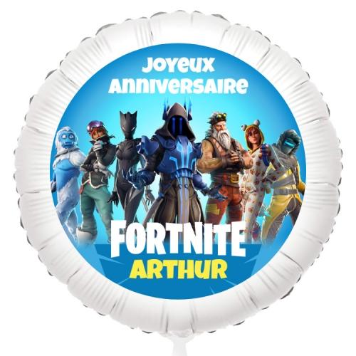 Ballon Fortnite - Gonflé à l Hélium 55 cm