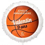 Ballon Basket - Hélium 55 cm