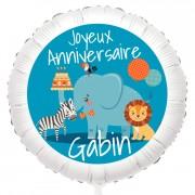 Ballon Jungle - Gonflé à l'Hélium 55 cm
