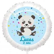 Ballon Panda - Hélium 55 cm
