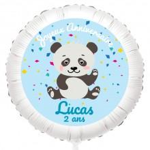 Ballon Panda - Gonflé à l'Hélium 55 cm