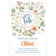 Invitation à personnaliser - Fleurs de Printemps Version 2
