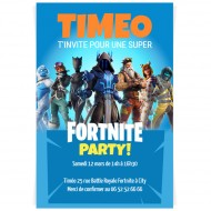 Invitation à personnaliser - Fortnite