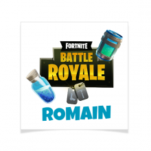 8 Tatouages à personnaliser - Battle Royale Fortnite