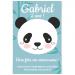Invitation à personnaliser - Panda. n°1