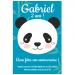 Invitation à personnaliser - Panda. n°2