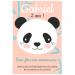 Invitation à personnaliser - Panda. n°3