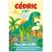 Invitation à personnaliser - Dino T-Rex. n°1