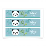 Contours à personnaliser - Panda