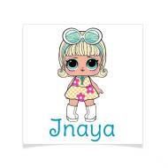 8 Tatouages à personnaliser - Lol Surprise Inaya