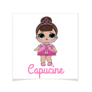 8 Tatouages à personnaliser - Lol Surprise Capucine