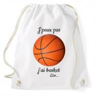 Sac d'activités à personnaliser - Basket