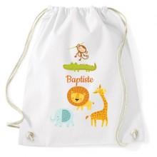 Sac d'activités à personnaliser - Baby Jungle