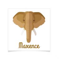 8 Tatouages à personnaliser - Éléphant