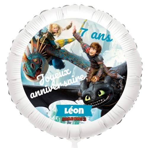 Ballon Dragon - Gonflé à l Hélium 55 cm