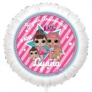 Ballon Lol Surprise - Gonflé à l'Hélium 55 cm