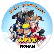 Fotocroc à personnaliser - Naruto