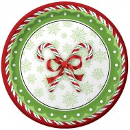 8 Assiettes Christmas Candy