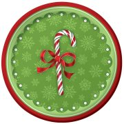 8 Petites Assiettes Christmas Candy