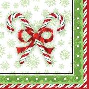 16 Serviettes Christmas Candy