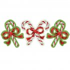 3 D�corations Christmas Candy