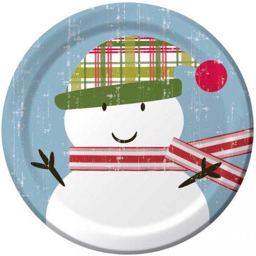 8 Petites Assiettes Noël Tendresse