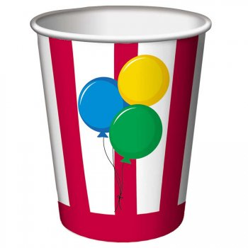 8 Gobelets Sweet Circus