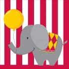 16 Serviettes Sweet Circus