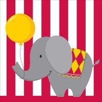 Contient : 1 x 16 Serviettes Sweet Circus