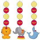 3 Décorations à Suspendre Sweet Circus