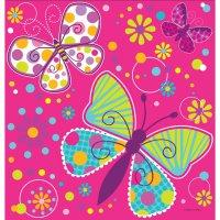 Contient : 1 x Nappe Papillon Fun