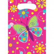 8 Pochettes Cadeaux Papillon Fun
